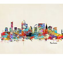 manchester skyline Photographic Print