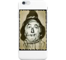 Wizard of Oz scarecrow drawing iPhone Case/Skin