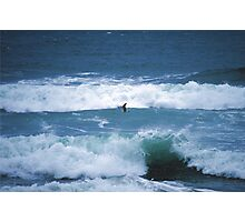 Flying Along The Waves ~ Imperial Bach, California Photographic Print