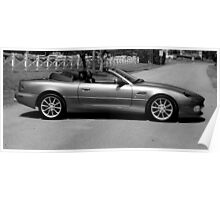 ASTON MARTIN DB7 THE BEST HOUR OF LIGHT Poster