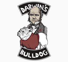DARWIN'S ACTUAL BULLDOG by Tai's Tees Kids Tee