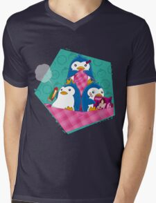 1-2-3 / We are Family! Mens V-Neck T-Shirt