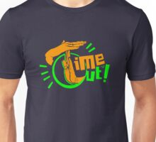 TIME OUT by Tai's Tees Unisex T-Shirt