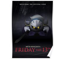 Meta Knight's Friday the 13th Poster