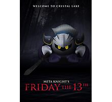 Meta Knight's Friday the 13th Photographic Print