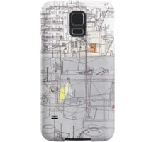 Beirut from a rooftop Samsung Galaxy Case/Skin