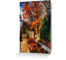 Glorious Autumn Greeting Card