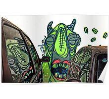 Car Monster Poster