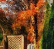 Glorious Autumn Sticker