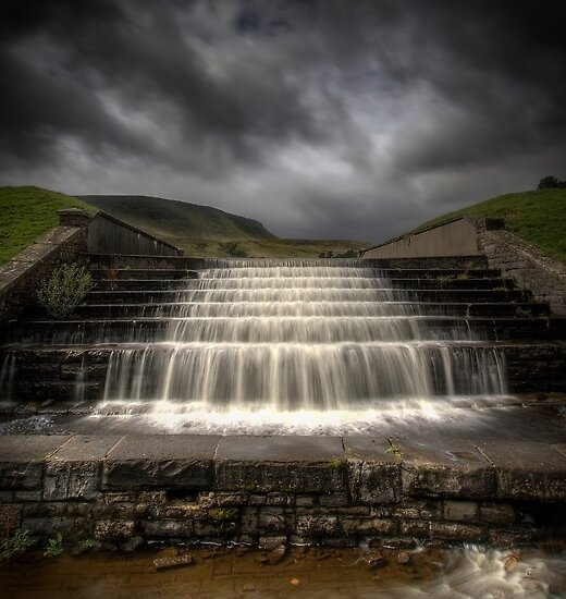Neuadd Reservoir by igotmeacanon