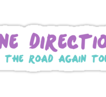 ON THE ROAD AGAIN TOUR Sticker