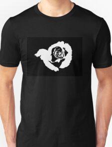 A Rose of Peach Art Unisex T-Shirt