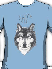 Wolf Sketch T-Shirt
