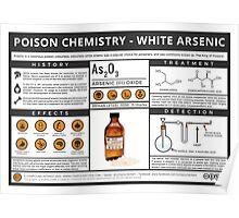 Poison Chemistry - White Arsenic Poster