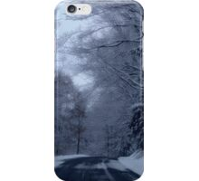 Naturally black and white world iPhone Case/Skin