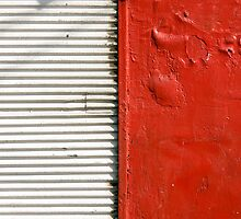 red and white (closed store) by Victor Bezrukov