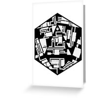 20 Sides Dungeon Greeting Card