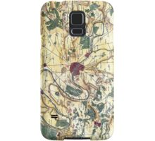 Map of the environs of Paris, France, Bonne,1780 Samsung Galaxy Case/Skin
