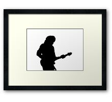 Brian May Red Special Framed Print