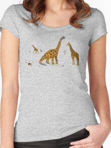 Brachiosaurus Women's Fitted Scoop T-Shirt