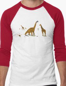 Brachiosaurus Men's Baseball ¾ T-Shirt