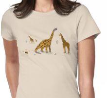 Brachiosaurus Womens Fitted T-Shirt