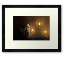 Never There Framed Print