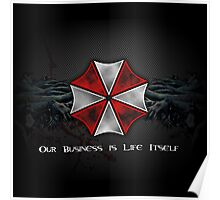 Umbrella Corporation Logo Poster