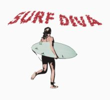 Surf Diva by TeeArt