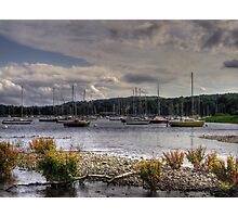 sail boats on coniston  Photographic Print