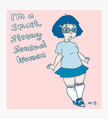 smart,strong,sensual woman (Tina fanart) Photographic Print