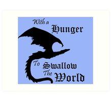 The World Eater Art Print