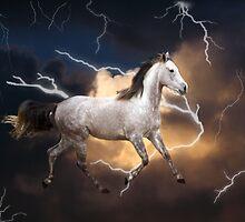 Lightning Storm by Samantha Dean