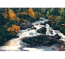 Fall Falls Photographic Print