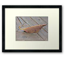 Mousey Leaf Framed Print