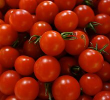 Cheery Cherry Tomatoes by Heidi Hermes