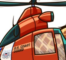 US Coast Guard Giraffe Sticker