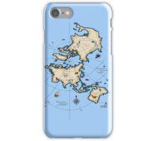 Mercator Map iPhone Case/Skin