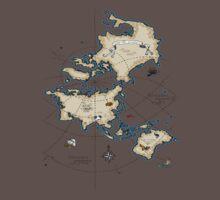 Mercator Map Kids Clothes