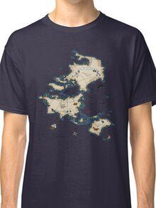 Mercator Map Classic T-Shirt