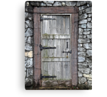 What's Behind the Door Canvas Print