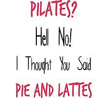 Pilates Photographic Print