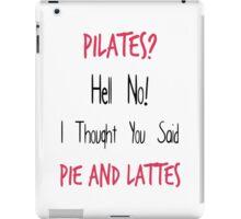 Pilates iPad Case/Skin