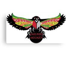 Chicago Hockey  Canvas Print
