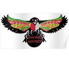 Chicago Hockey  Poster