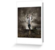 DEAD TREE Greeting Card
