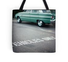 Vehicles Only Tote Bag