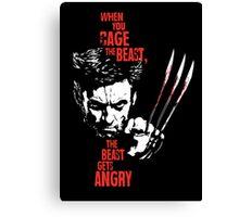 Wolverine X Men Canvas Print