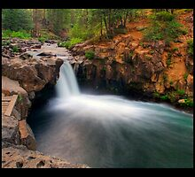 Lower McCloud Falls by Rickcalif