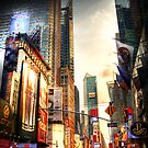 Dusk in TImes Square by Phil Scott
